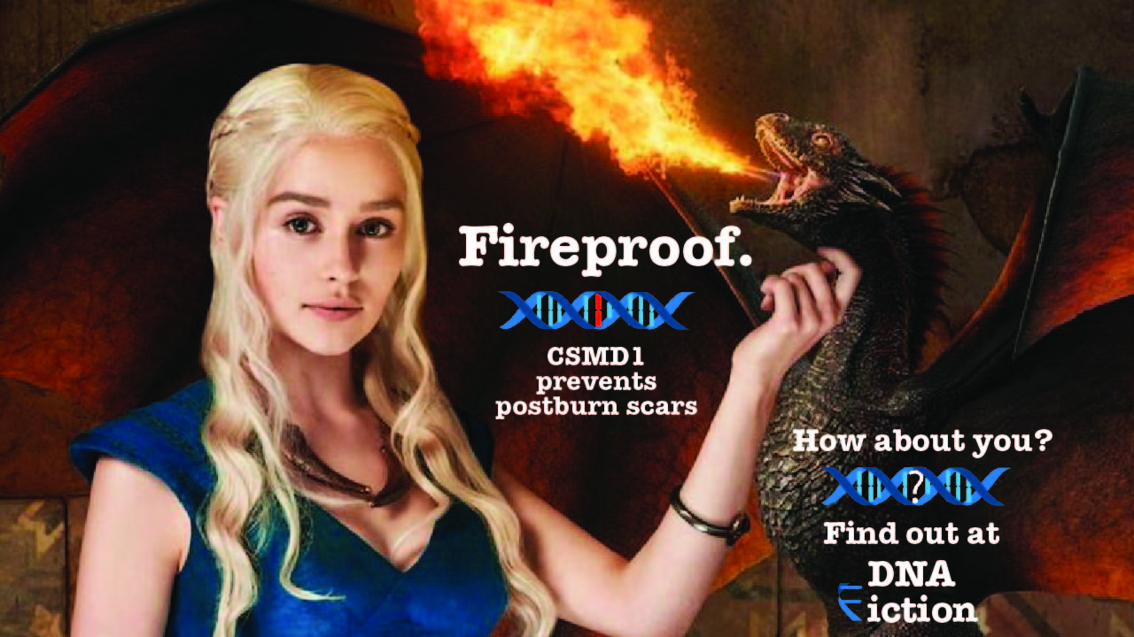 Daenerys is fireproof. Are you?